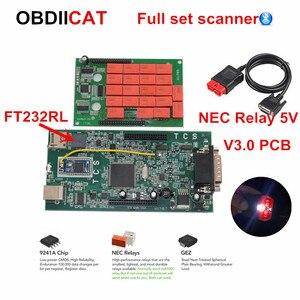 2017.1 new TCS PRO V3.0 9241 MVDiag OBDIICAT-TCS Pro Bluetooth 2016.1+Keygen Multi Diag MVD Diagnostic Scanner Tool(China)