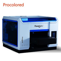Procolored 2021 UV Printer A3 Print for Glass Phone Case Wood Metal Bottle Multifunction LED Digital UV Flatbed Printing Machine
