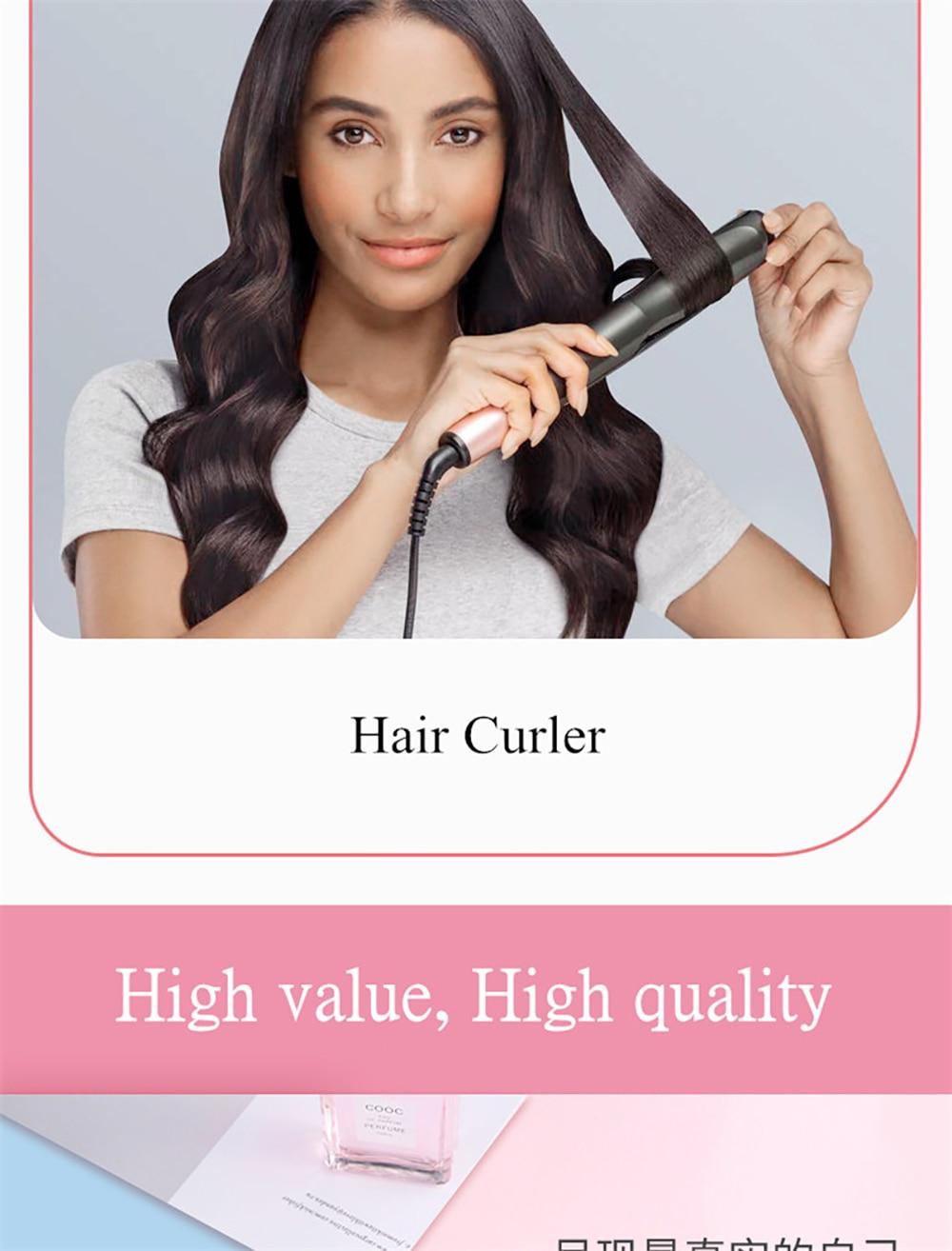 cabelo profissional straightener 2 em 1 ferro de 04