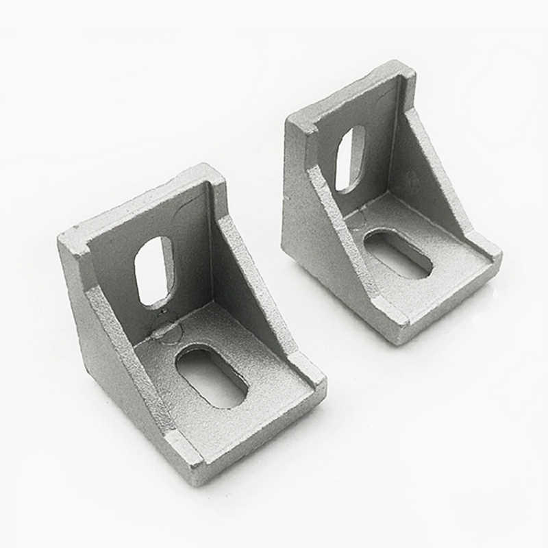 2020 3030 4040 ecke Fitting Winkel Aluminium Connector Bracket Verschluss Möbel Hardware
