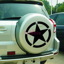 Автомобильный Стайлинг армейская звезда топливный бак крышка