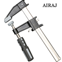 AIRAJ High Carbon Steel Quick Release Extrusion Woodworking Clamp 6/12/18 inch F-clip G-clamp for Gripping Hand Tools