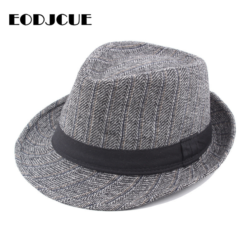 Retro Fedoras Top Jazz Hat Men Winter Warm Hat Bowler Hats Cap Panama Casual Dad Hats gorro
