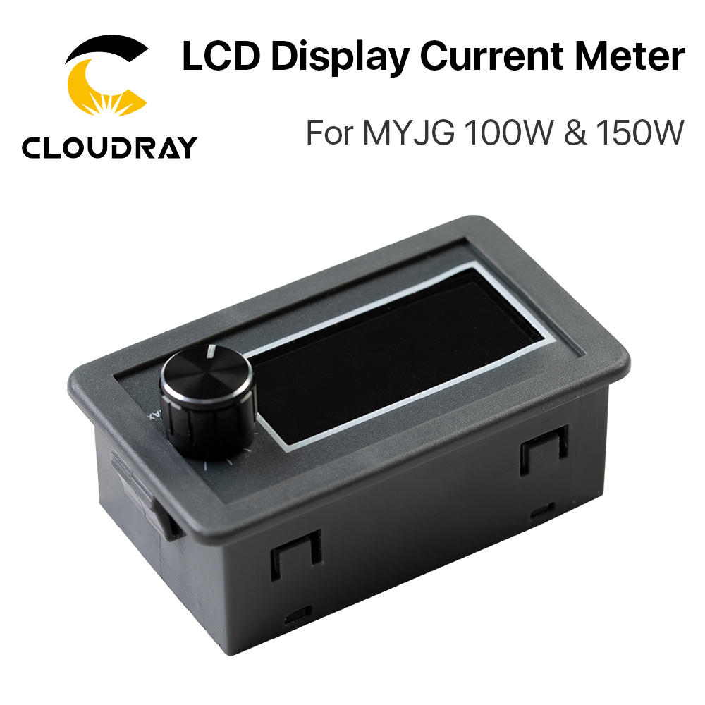 Cloudray LCD Display CO2 Current Meter External Screen For MYJG Series 100W &150W CO2 Laser Power Supply