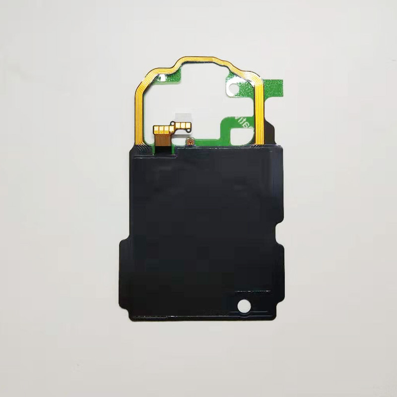 10pcs/Lot For Samsung Galaxy <font><b>S8</b></font> <font><b>S8</b></font> Plus S9 Plus G950F G955F G960F <font><b>NFC</b></font> Wireless Charging Charge Panel Coil Sticker Flex Cable Rib image