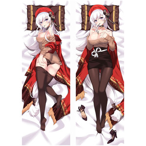 New Arrival Anime Game Azur Lane pillow Covers Dakimakura Case Sexy girl 3D Double-sided Bedding Hugging Body pillowcase AR44(China)