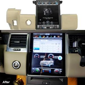 Image 4 - טסלה מסך לנד רובר ריינג רובר ספורט L320 2010 2011 2012 2013 רכב אנדרואיד מולטימדיה נגן 10.4 אינץ רכב רדיו GPS