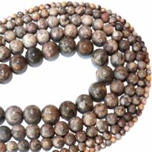 Free Shipping Natural Stone Maifanite Stone Round Beads 4 6 8 10 12 MM Pick Size For Jewelry Making Charm Diy Bracelet Necklace(China)