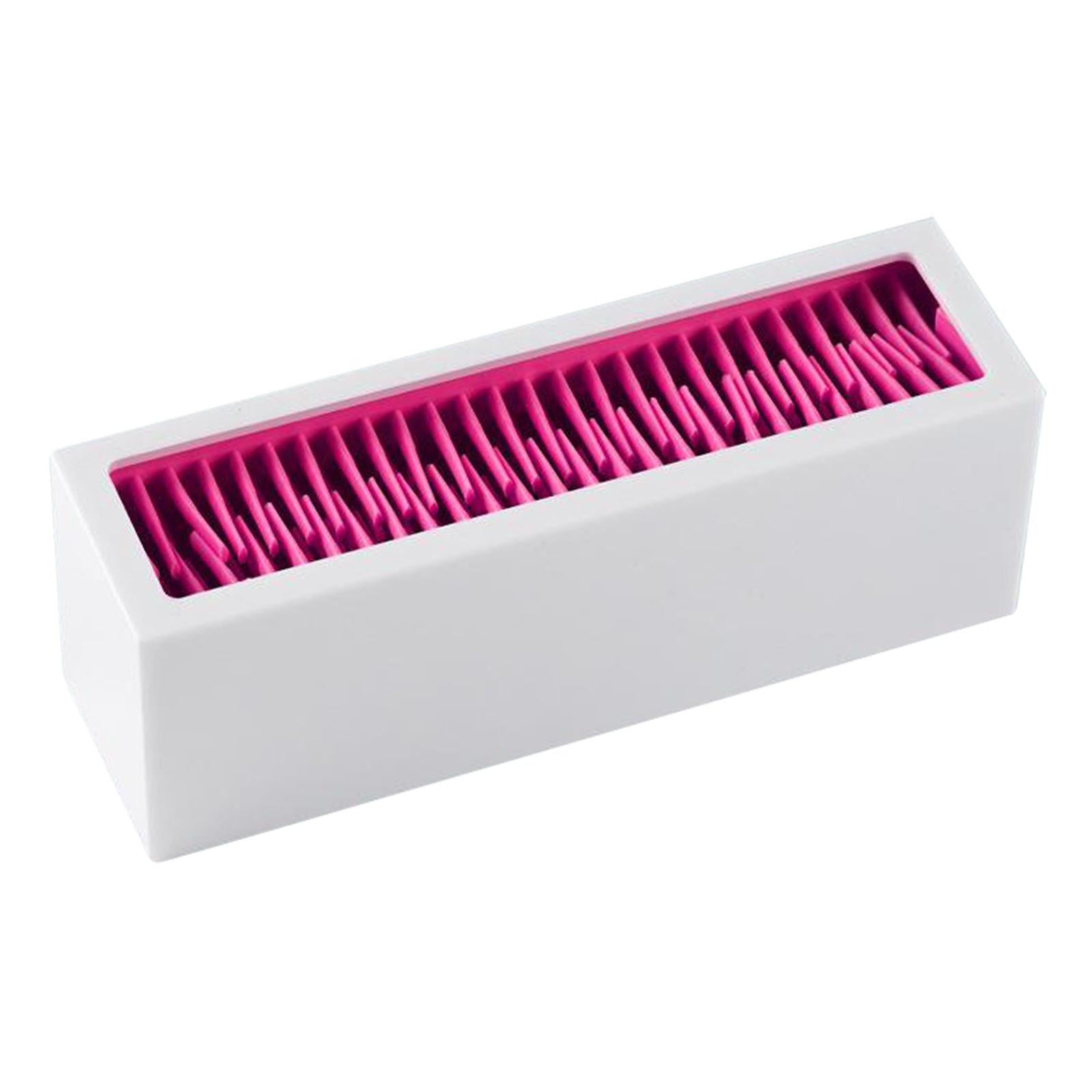 Makeup Brush Organizer Silicone Cosmetic Tools Storage Holder Vanity Display