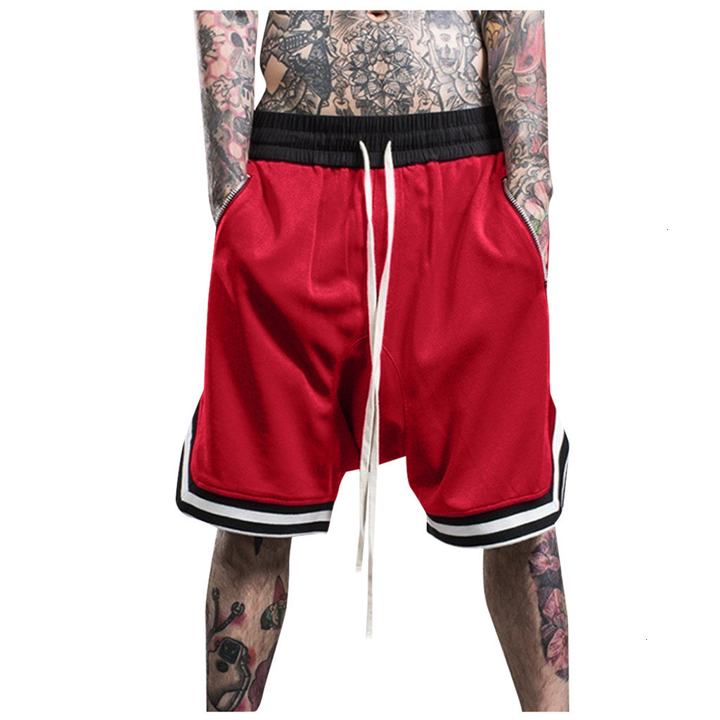 Men Shorts Swimwear Trunks Charm Underwear Boxer Fashionable Men's Elastic Rope Stretch Mesh Pocket Casual Plain Sports Shorts