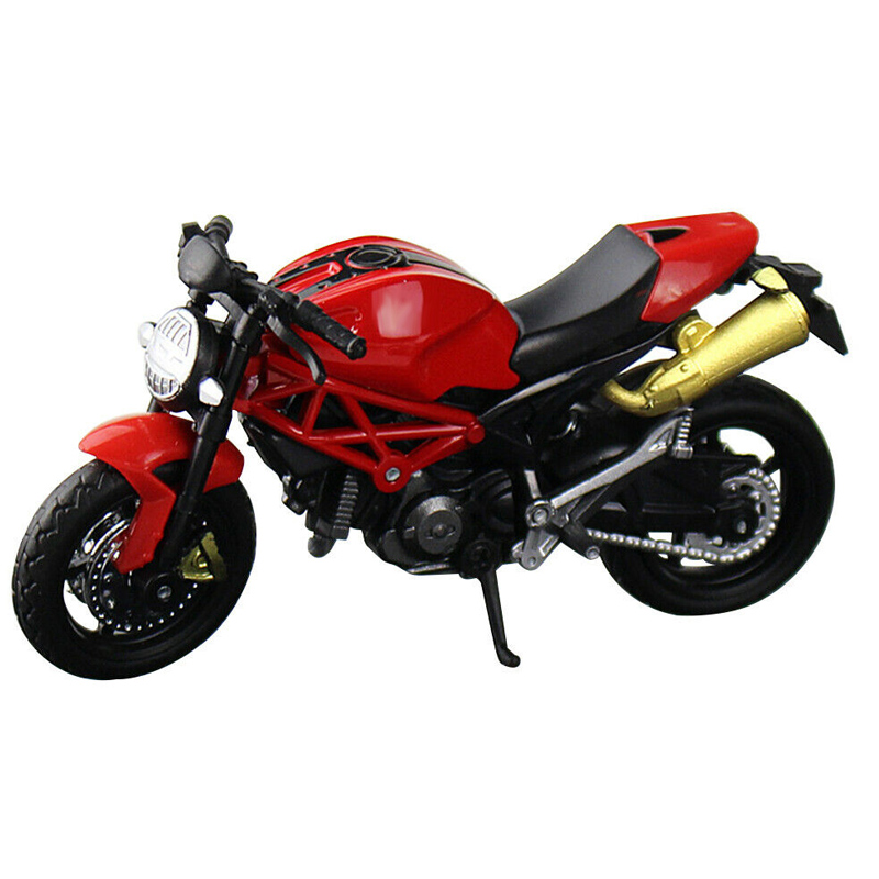 Simulation Motorcycle Model Toy 1:18 Scale Motorbike Children Collection Multi-color Multiple Models Car Interior Accessories
