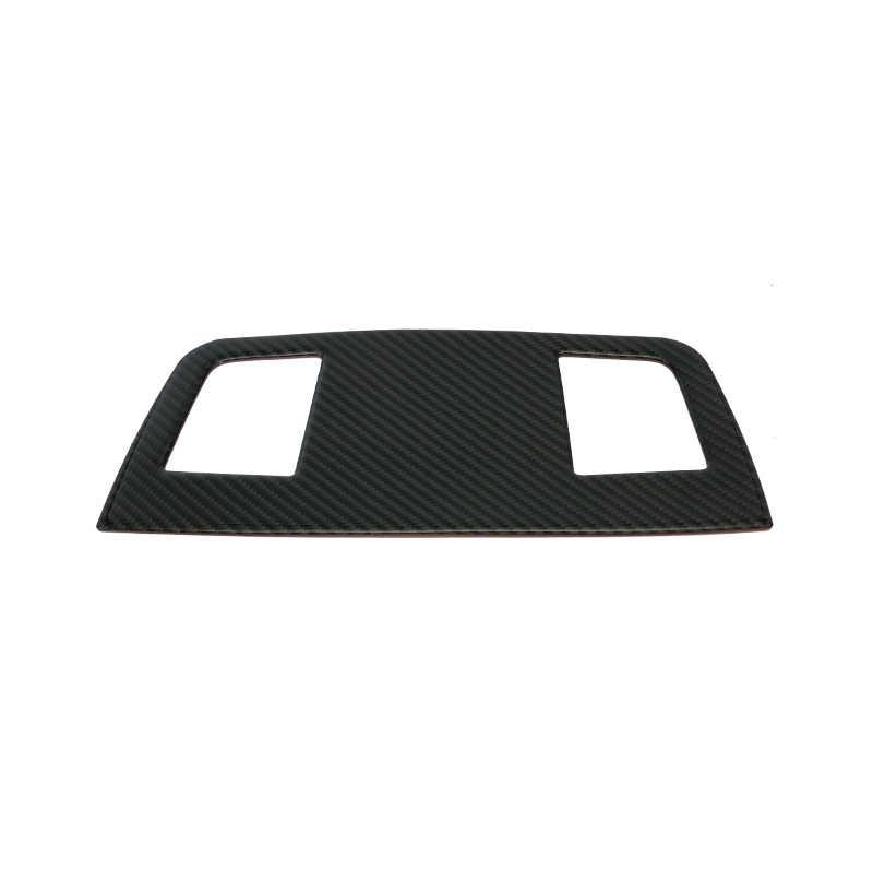 車のインテリア炭素繊維スピーカーパネル装飾車のスタイリングステッカー装飾 bmw E90 3 シリーズのアクセサリー