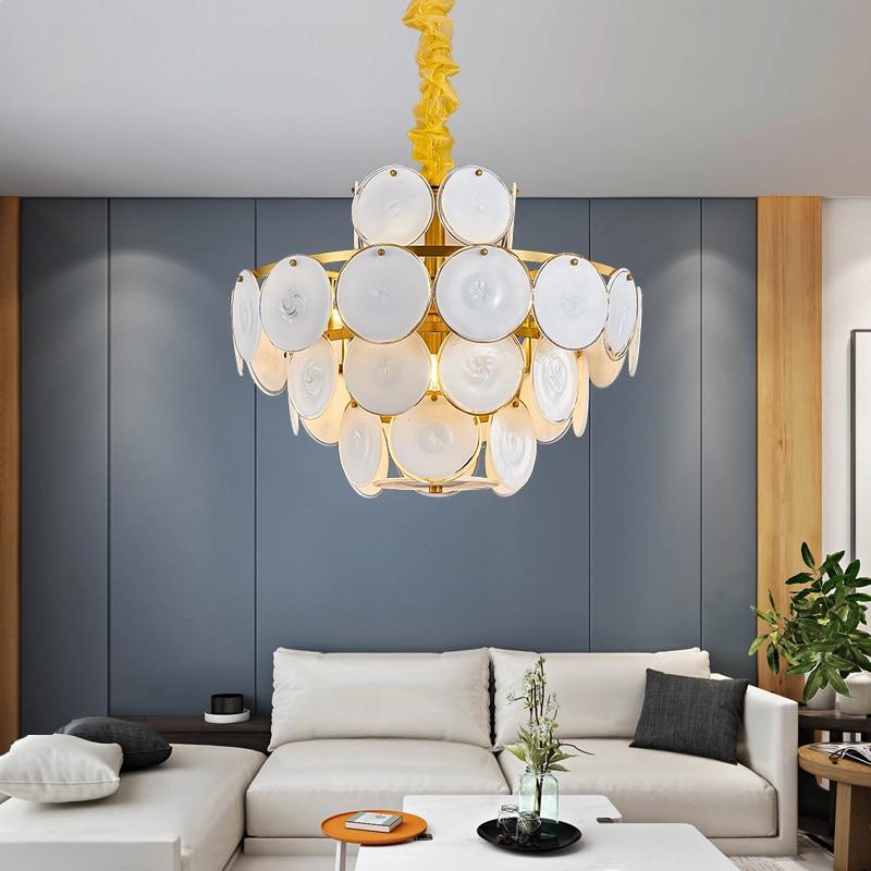 Post Modern Light Luxury Living Room Dining Room Chandelier Simple Creative Personality Bedroom Bar Table Lamp Nordic Designer