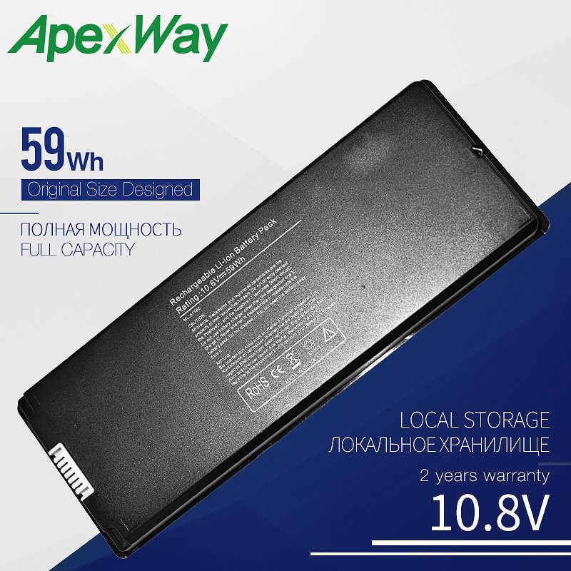 Batterie d'ordinateur portable 10.8V 59Wh pour APPLE MacBook A1181 A1185 MA472 MA472 */A MA472B/A MA472CH/A MA701 MB063 */A