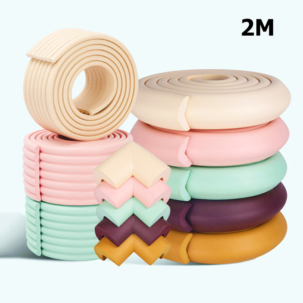 2M Protection From Children Corner Protector Baby Safety Table Desk Angle Guards Strip Security Baby Corner Home Protector Tape