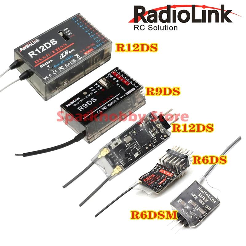 Récepteur de radioenlace d'origine RadioLink R6DS R6DSM R9DS R12DS R12DSM byme D controlador de vuelo