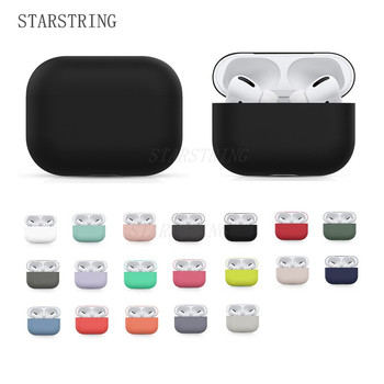 Original Case For Apple Airpods Pro Wireless Bluetooth Earphone Case Candy Color Box Soft silicone Cute Cover Air Pods Pro case 3d lucky rat cartoon bluetooth earphone case for airpods pro cute accessories protective cover for apple air pods 3 silicone