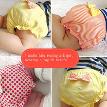 1pc Bow Baby Cotton Underwear Panties Girls Cute Underpants Shorts Summer Shorts 0-7 Years Old Girl Children  Novelty