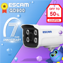 ESCAM QD900 WiFi Outdoor Bullet IP Camera Waterproof Home Security CCTV Camera with IR Night Vision, Motion Detection