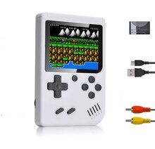 Ретро Видео игровой плеер 400 В 1 игровая консоль 3 дюймов HD Экран карман Классический игровой мини-коробка Поддержка ТВ соединение