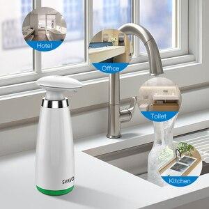 Image 3 - Автоматический диспенсер для мыла, бесконтактный антисептик, 350 мл