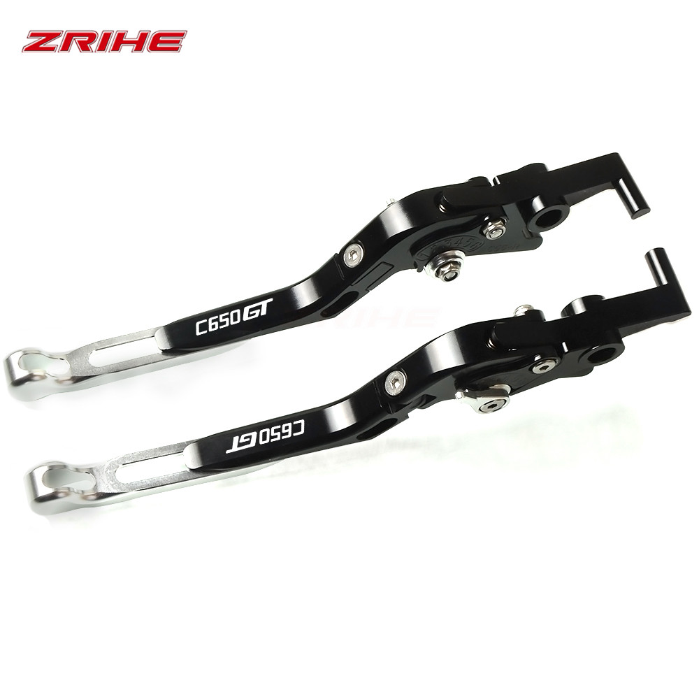 Motorcycle Accessories aluminum Folding Extendable Brake&Clutch handlebar lever FOR <font><b>BMW</b></font> <font><b>C650</b></font> <font><b>GT</b></font> 2011-2017 2016 2015 2014 2013 image