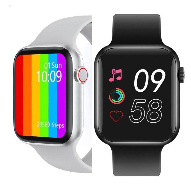 Original IWO W26 + Pro W26 W46 HW12 HW16 HW22 40MM/44MM Smart Watch Series 6 Women Men Bluetooth Call Sport Smartwatch 1