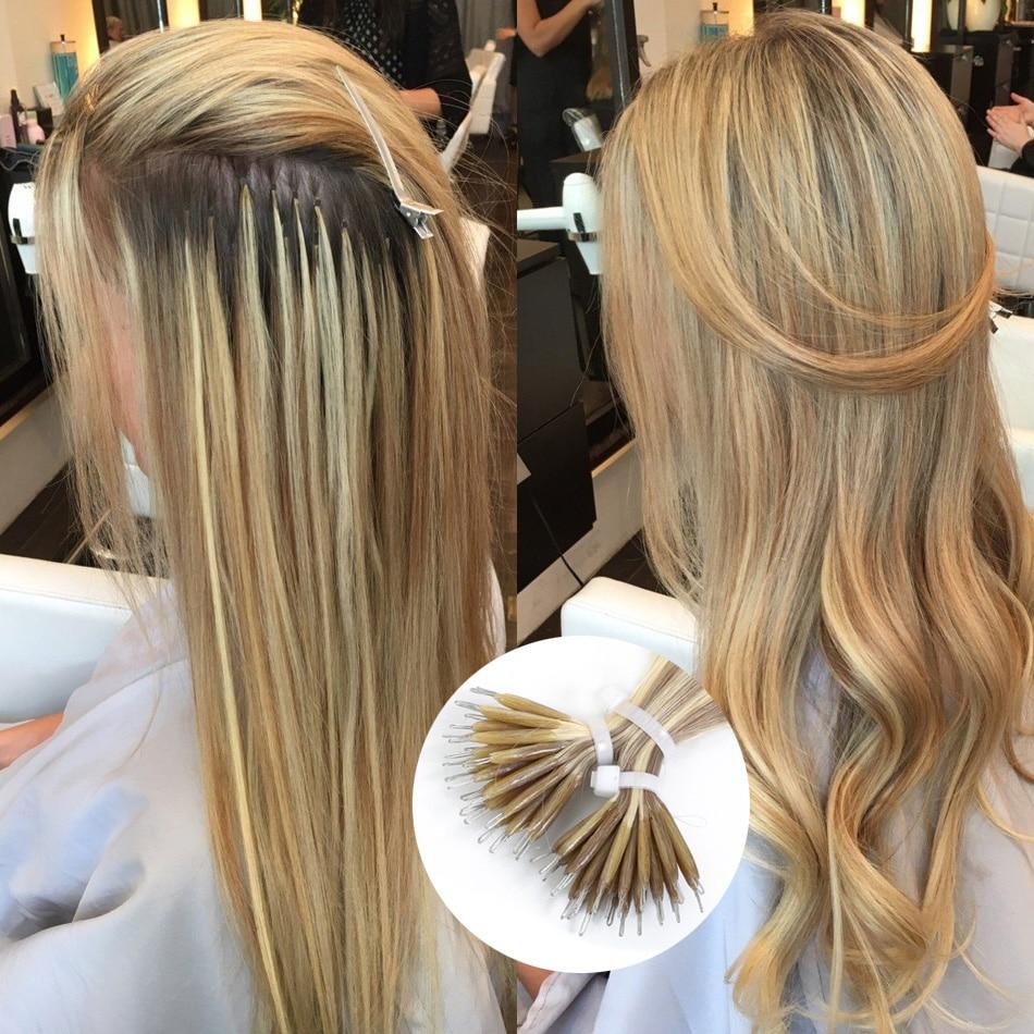 Extensions de cheveux naturels européens Remy-Isheeny | Cheveux lisses, blond 9 couleurs, 14