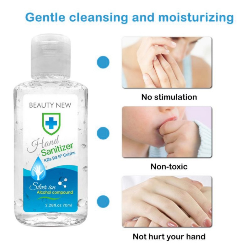Fast Shipping Disposable Rinse Free Hand Sanitizer Portable Hand Cleaner Sanitizer Hand Soaps Hands & Nails Care