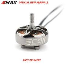 Presente em estoque mais novo emax oficial eco ii série 2807 1300kv 1700kv 1500kv motor sem escova para rc zangão fpv corrida