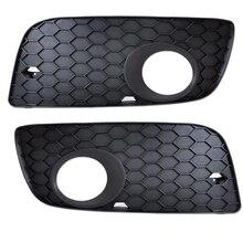 Замена для Golf 5 2005-2009 1K0853666P/1K0853665S левая+ правая сторона 1 пара автомобиля Foglight решетка крышка
