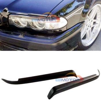 Eyebrow Set Lamp Spoiler Kit Eye Lid Spoilers For BMW E38 1995-2001 B489F 1