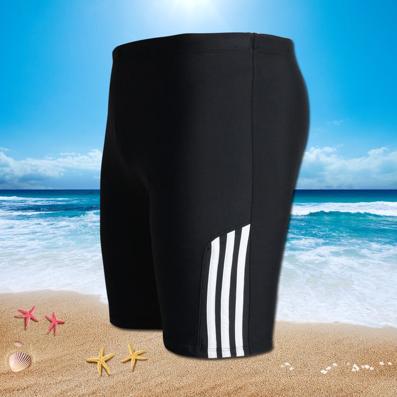2019 New Style Men Shorts Swimming Trunks Beach Boxer Short Shorts Plus-sized Hot Springs Bathing Suit