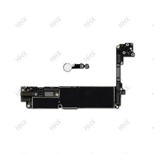 Image 3 - Para iphone 7 placa mãe sem/com toque id, para iphone7 móvel mainboard 4g suporte 32gb/128gb /256gb