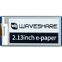 Waveshare 2.13inch E-Paper E-Ink Display Module for Raspberry Pi Pico, 250*122, Black / White, SPI, Paper-Like Effect, Low Power