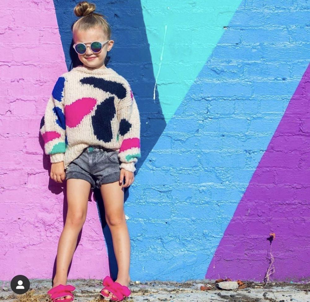 Kids Sweater TAO Brand New Autumn Winter Baby Girls Coat Jacket Christmas Sweaters Boy Cardigan Toddler Girl Winter Clothes 2021 2
