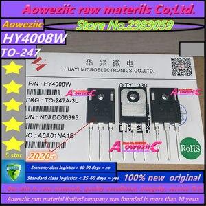 Image 4 - Aoweziic 2020 + 10 adet 20 adet 50 adet 100 adet 100% yeni orijinal HY4008 HY4008W TO 247 MOSFET enversör Ultra çip 80V 200A