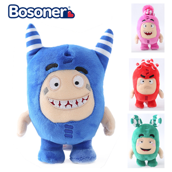 23cm Oddbods Cartoon Fuse Jeff Newt Odd ZEE Bods Stuffed Animals Plush Toy Doll Soft Toys for Children Christmas Gifts