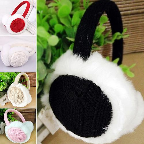Women Girl Winter Warm Kint Earmuffs Earwarmers Ear Muffs Earlap Warmer Headband Christmas Gift Headband Earmuffs на уши зимние