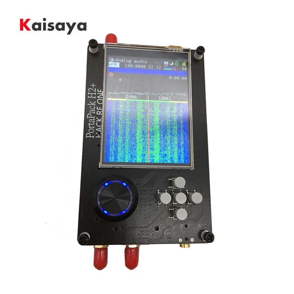 2,8 дюймов сенсорный ЖК-дисплей PortaPack H2 консоль 0.5ppm TXCO 2100MAh батарея для HackRF SDR приемник Ham Радио C5-015