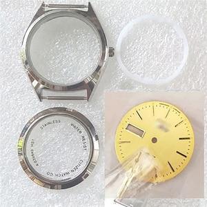 Image 2 - 36ミリメートル腕時計ケース腕時計ダイヤル修理キット8200時計ムーブメントアクセサリー