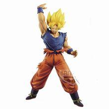 La bola del dragón del Anime figura hijo de Goku de Super Saiyan en miniatura DBZ Brinquedos acción Figurals 25cm esfera Goku Kakarotto Juguetes