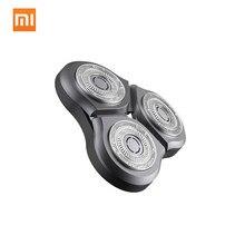 الأصلي شاومي Mijia ماكينة حلاقة شفرة ل mijia S500 S300 الحلاقة الحلاقة مقاوم للماء المزدوج شفرة الصلب شفرة الحلاقة الكهربائية رئيس