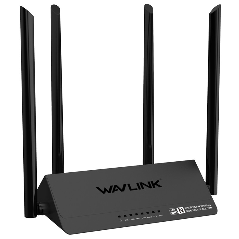 Wavlink 521R2PRouter 2.4GHz WiFi Routers 1167Mbps WiFi Repeater 128MB DDR3 High Gain 4 Antennas Network Extender image