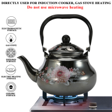 1.5L-2.5L эмалированный чайник, бытовые чайники с автоматическим напоминанием, эмалированная чашка chaleira, свисток, чайник, эмалированный чайник для газовой плиты, эмалированный кофе