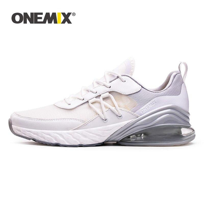ONEMIX 2019 新エアクッションスニーカービッグサイズ 43 女性レトロランニングシューズポータブル屋外アスレチックジョギングテニスシューズ  グループ上の スポーツ & エンターテイメント からの ランニングシューズ の中 1