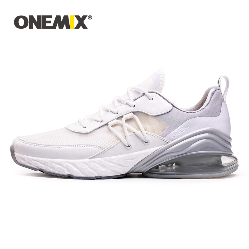 ONEMIX 2019 New Air Cushion Sneakers Big Size 43 Women Retro Running Shoes Portable Outdoor Athletic Flats Jogging Tennis Shoes