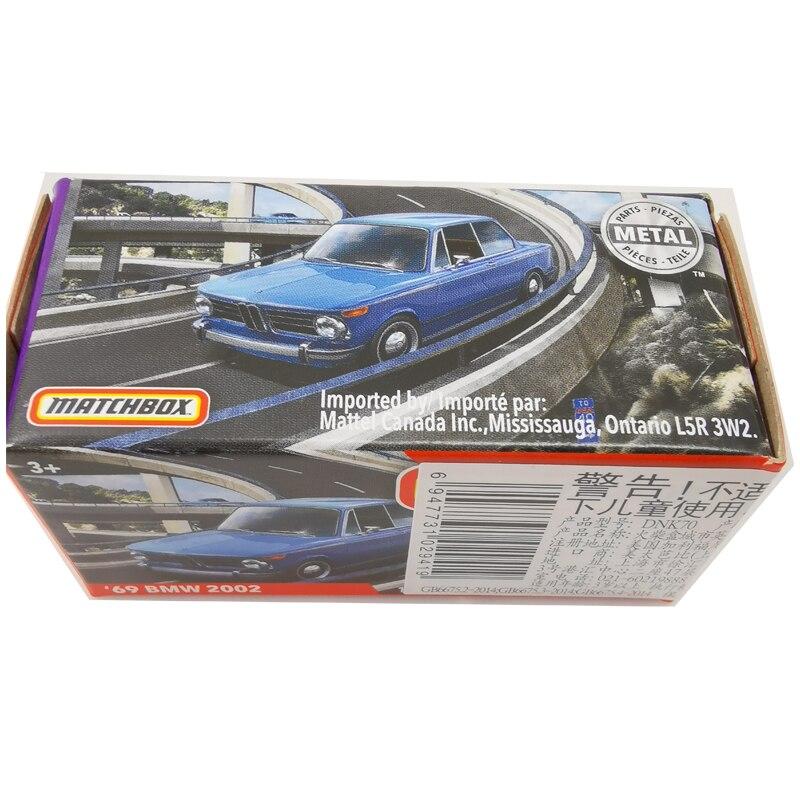 2020 Matchbox Cars 1:64 Car 69 BMW 2002 Metal Diecast Alloy Model Car Toy Vehicles