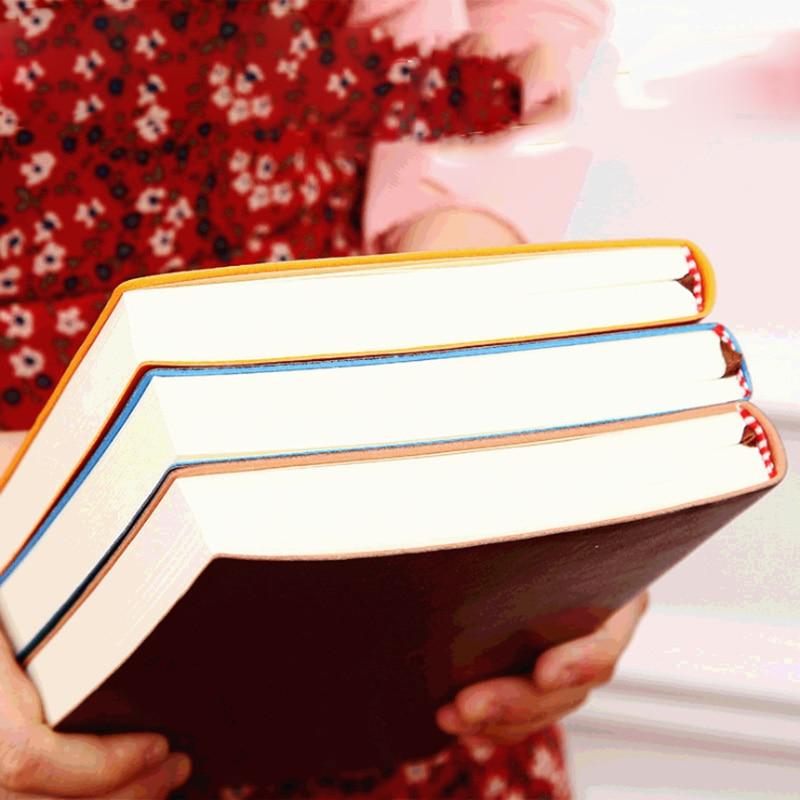 Мягкий деловой кожаный дневник, записная книжка A6 A5 B5 из искусственной кожи, дневник для путешественников, утолщенный блокнот для школы и офиса, записная книжка|Записные книжки|   | АлиЭкспресс
