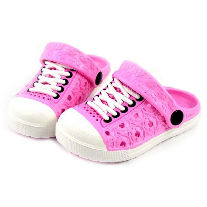 2020 New 1 Pair Children Kids Slippers Sandals Anti-slip Breathable For Summer Beach